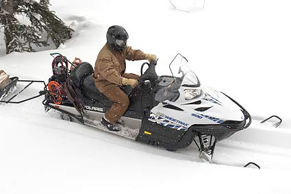 Снегоход Polaris 600 Widetrak IQ 2010 года
